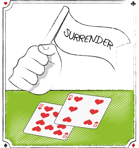 blackjack surrender #2