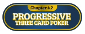 4.2 progressive three card poker