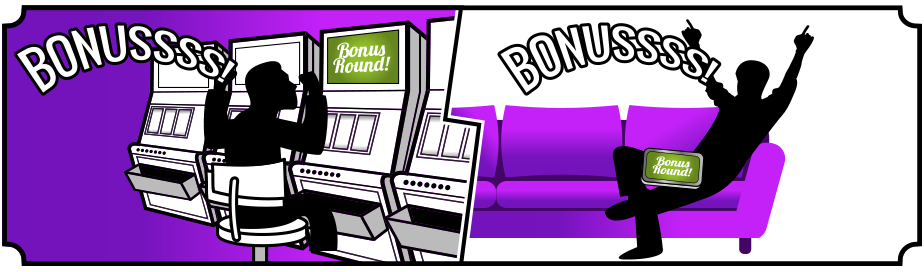 Casino vs Online casino Slot bonuses