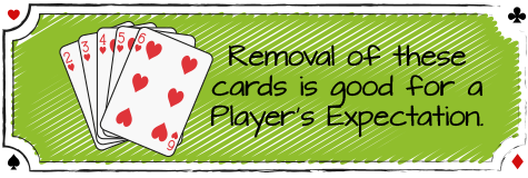 removing low cards