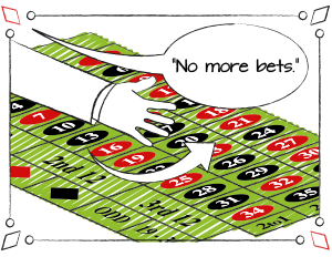 Roulette rules: when you must stop betting