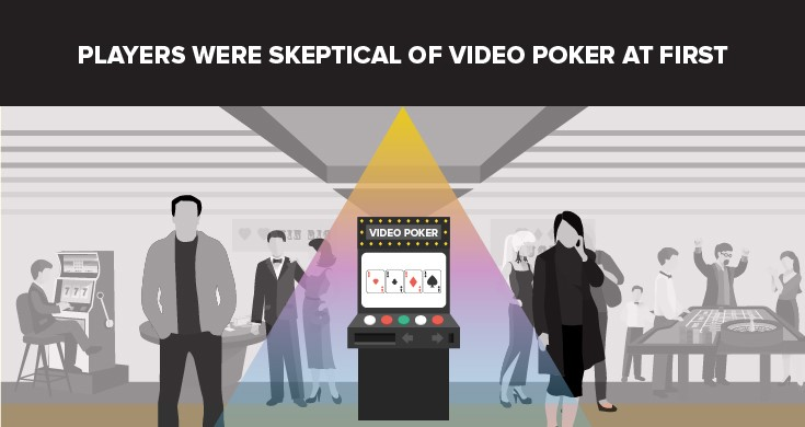 Skeptical video poker players