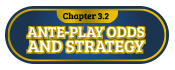 3.2 ante play odds and strategy