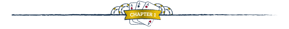 Chapter 1 - How to play three card poker