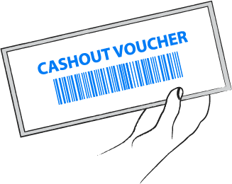 Cashout Voucher - Video Poker
